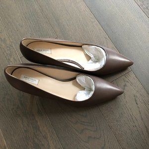 Cole Haan Grand. OS Leather Pumps Light Brown 9.5B